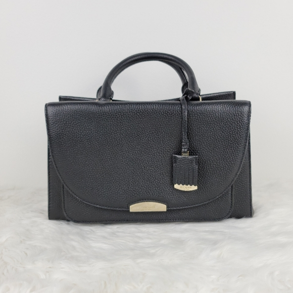 Kate Spade Pine Grove Way Carolyna black satchel